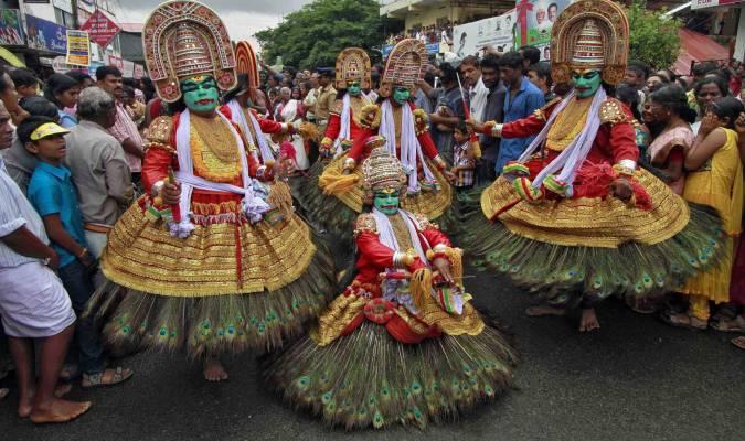 Onam, le festival de la moisson
