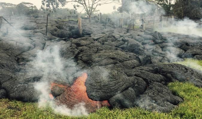 Volcan Kilauea, chaud devant
