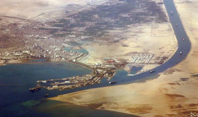 Inauguration de la 2ème voie du canal de Suez, en Egypte.