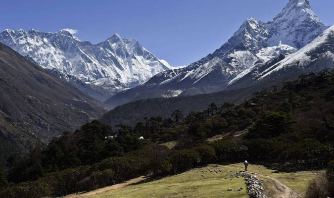 Dernière nouvelle du mont Everest