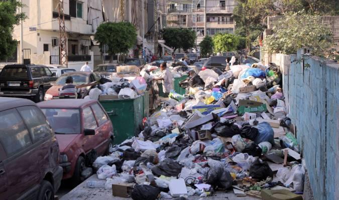 Les ordures s'amoncellent