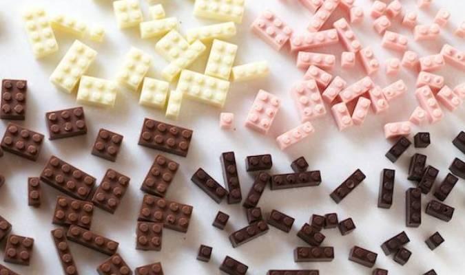 Délicieux Lego au chocolat