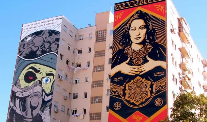 Malaga, musée de street art à ciel ouvert