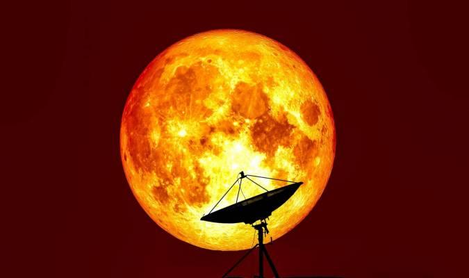 Super Lune d'automne