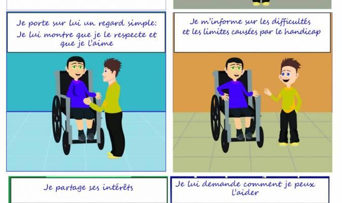 Comment réagir avec les gens touchés par un handicap ?