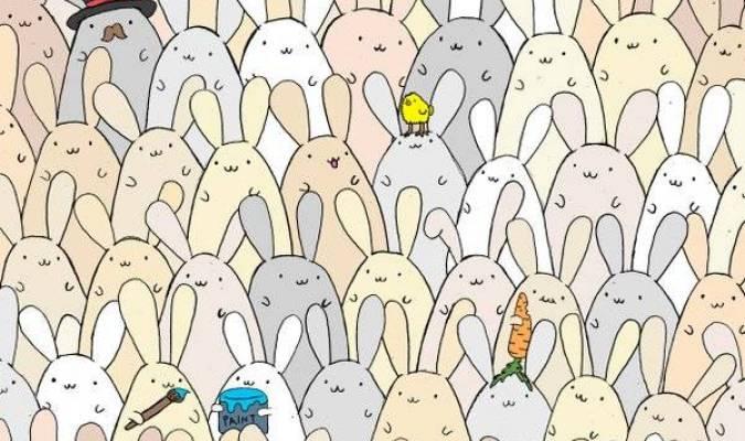 Mais où est donc l'œuf parmi tous ces lapins ?