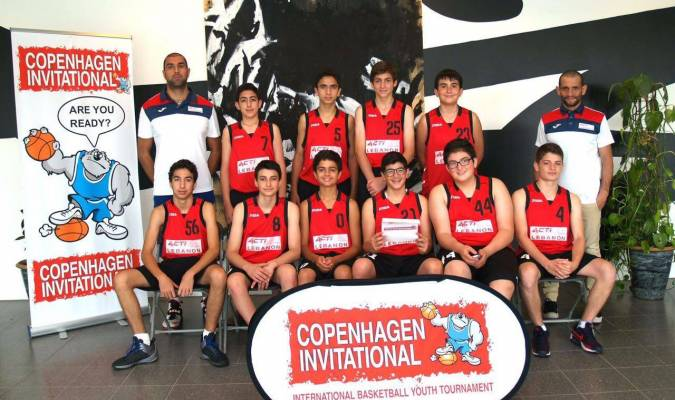 Victoire pour l'équipe libanaise junior de basket ball à Copenhague