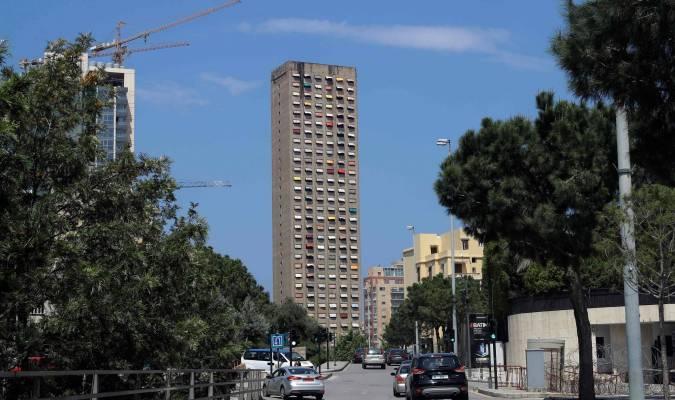 La tour Murr aux couleurs du printemps